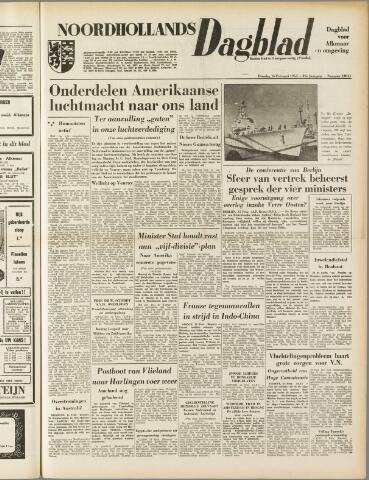 Noordhollands Dagblad : dagblad voor Alkmaar en omgeving 1954-02-16