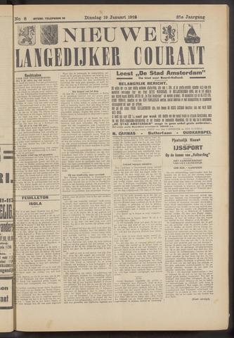 Nieuwe Langedijker Courant 1926-01-19