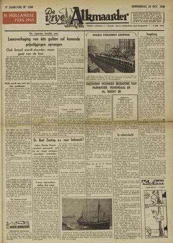 De Vrije Alkmaarder 1948-10-28