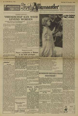 De Vrije Alkmaarder 1949-12-24