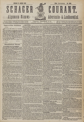 Schager Courant 1920-01-13