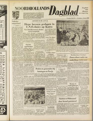 Noordhollands Dagblad : dagblad voor Alkmaar en omgeving 1953-07-15