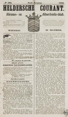 Heldersche Courant 1866-12-26