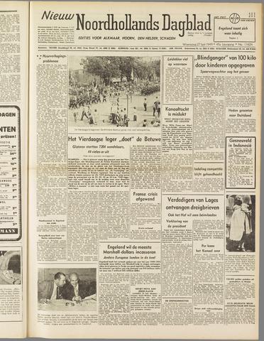 Nieuw Noordhollandsch Dagblad : voor Alkmaar en omgeving 1949-07-27
