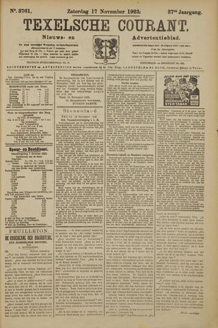 Texelsche Courant 1923-11-17