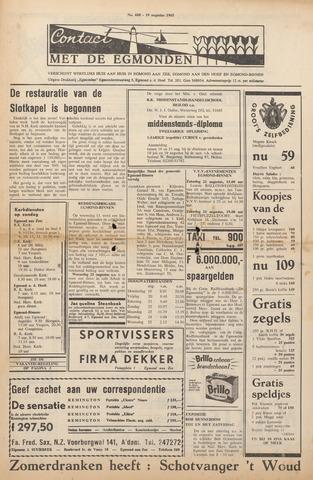 Contact met de Egmonden 1965-08-19