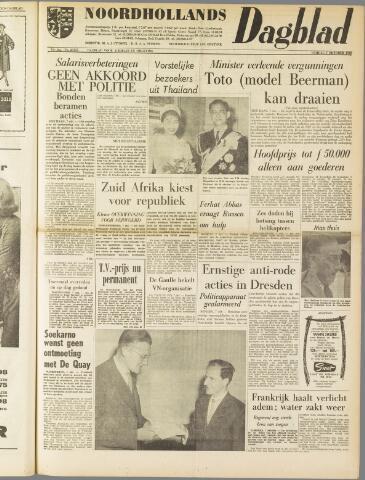 Noordhollands Dagblad : dagblad voor Alkmaar en omgeving 1960-10-07