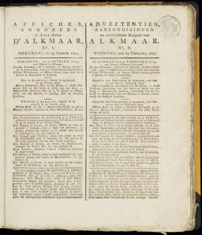 Alkmaarsche Courant 1813-02-24