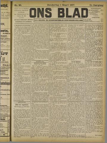 Ons Blad : katholiek nieuwsblad voor N-H 1917-03-01