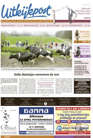 Uitkijkpost : nieuwsblad voor Heiloo e.o. 2011-04-20