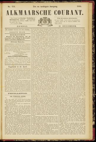 Alkmaarsche Courant 1884-12-21