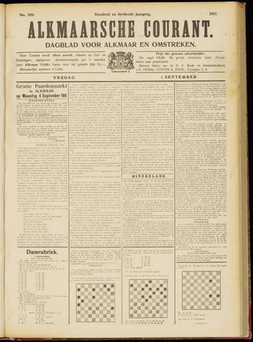 Alkmaarsche Courant 1911-09-01