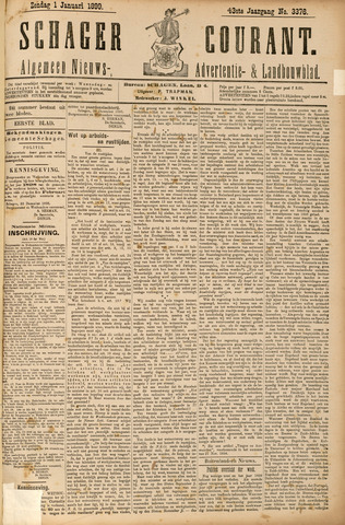 Schager Courant 1899
