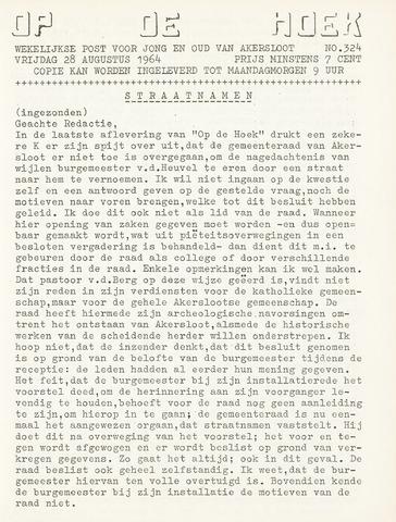 Op De Hoek, weekblad voor Akersloot 1964-08-28
