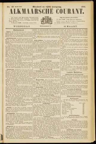 Alkmaarsche Courant 1903-03-18