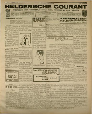 Heldersche Courant 1932-02-27
