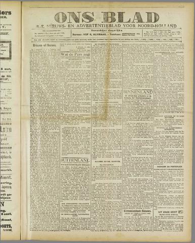 Ons Blad : katholiek nieuwsblad voor N-H 1920-05-06