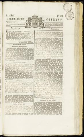 Alkmaarsche Courant 1841-12-06