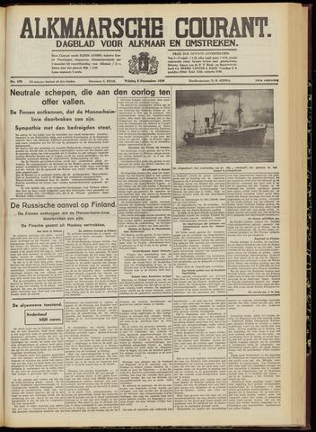 Alkmaarsche Courant 1939-12-08