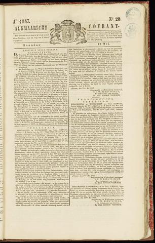 Alkmaarsche Courant 1847-05-17