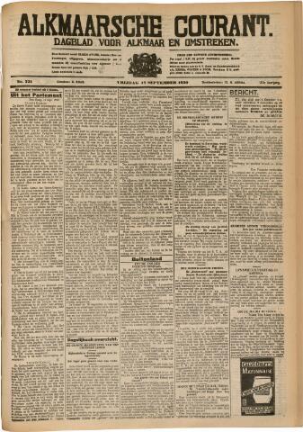 Alkmaarsche Courant 1930-09-19