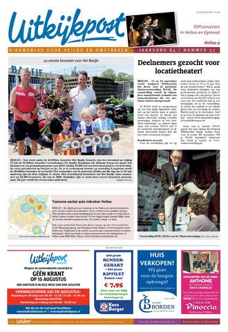 Uitkijkpost : nieuwsblad voor Heiloo e.o. 2018-08-08