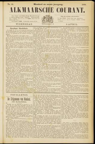 Alkmaarsche Courant 1899-04-05
