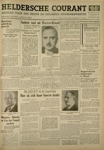 Heldersche Courant 1939-08-15