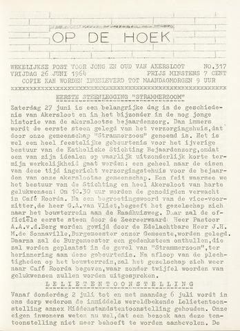 Op De Hoek, weekblad voor Akersloot 1964-06-26