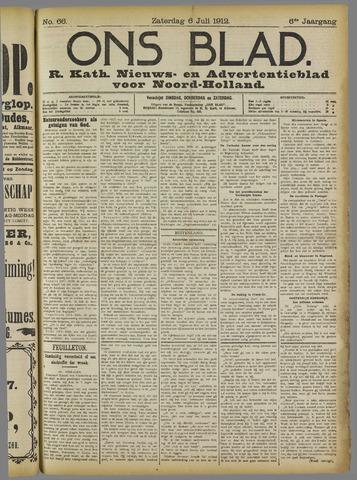 Ons Blad : katholiek nieuwsblad voor N-H 1912-07-06