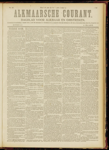 Alkmaarsche Courant 1919-03-04