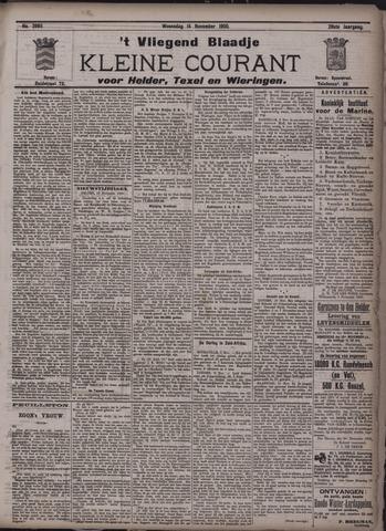 Vliegend blaadje : nieuws- en advertentiebode voor Den Helder 1900-11-14