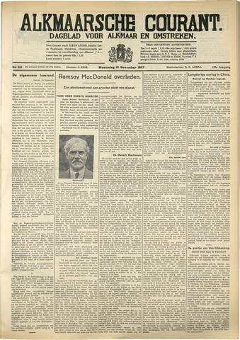 Alkmaarsche Courant 1937-11-10