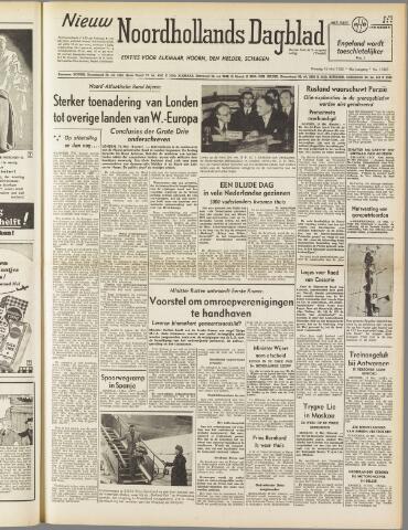 Nieuw Noordhollandsch Dagblad : voor Alkmaar en omgeving 1950-05-16