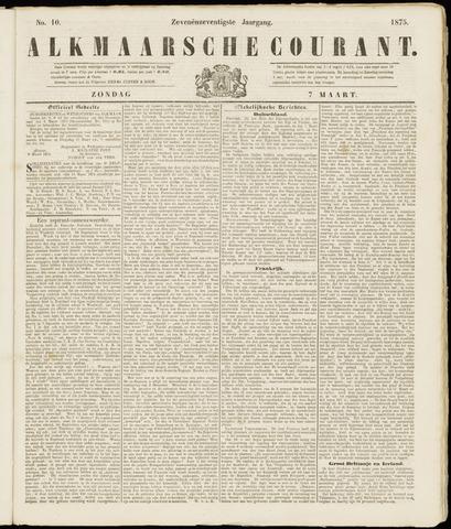 Alkmaarsche Courant 1875-03-07