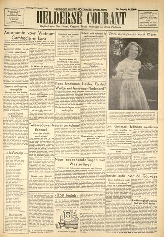 Heldersche Courant 1950-01-30