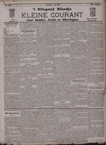 Vliegend blaadje : nieuws- en advertentiebode voor Den Helder 1900-07-07