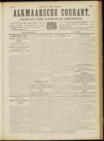 Alkmaarsche Courant 1909-04-08