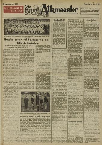 De Vrije Alkmaarder 1948-06-14