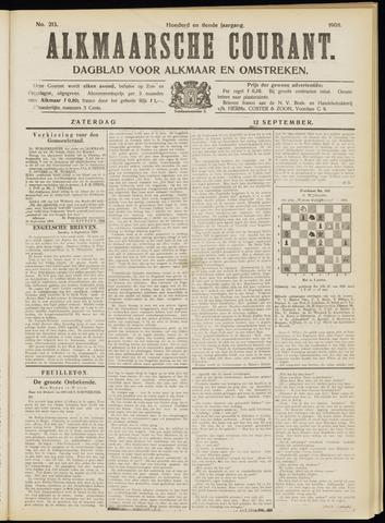 Alkmaarsche Courant 1908-09-12