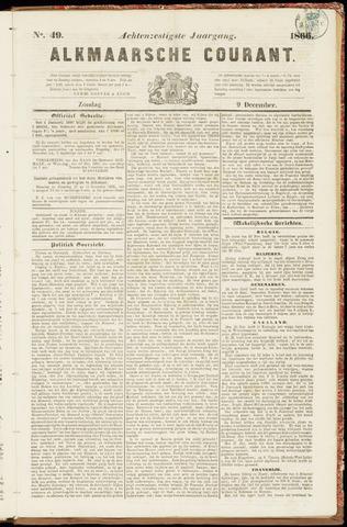 Alkmaarsche Courant 1866-12-09