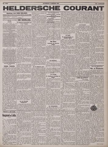 Heldersche Courant 1915-01-09