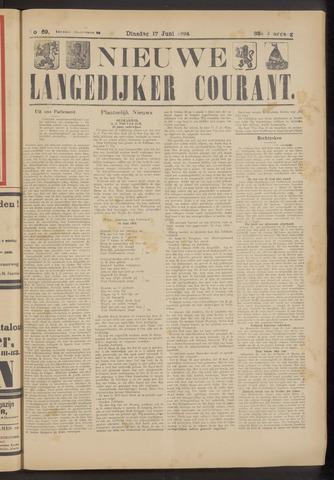 Nieuwe Langedijker Courant 1924-06-17
