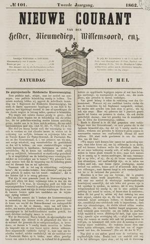 Nieuwe Courant van Den Helder 1862-05-17