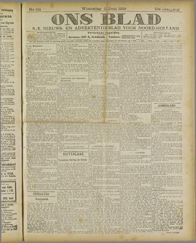 Ons Blad : katholiek nieuwsblad voor N-H 1919-06-11