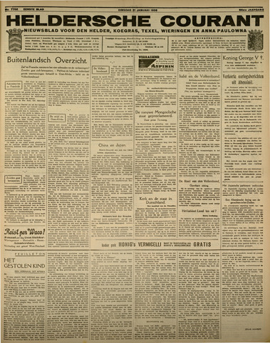 Heldersche Courant 1936-01-21