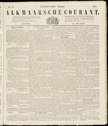 Alkmaarsche Courant 1875-03-14