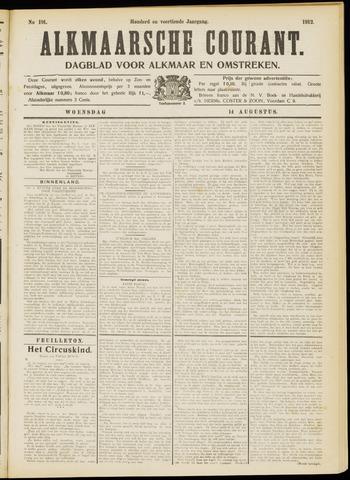 Alkmaarsche Courant 1912-08-14