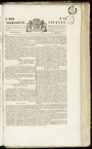 Alkmaarsche Courant 1841-04-05