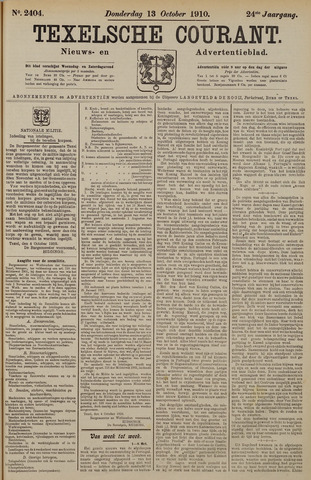 Texelsche Courant 1910-10-13